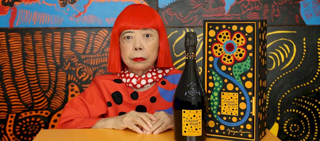 veuve-clicquot-yayoi-kusama-two-grandes-dames-together